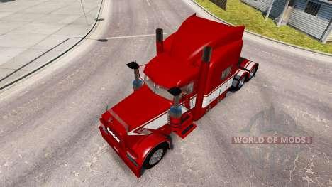 Viper2 de la piel para el camión Peterbilt 389 para American Truck Simulator