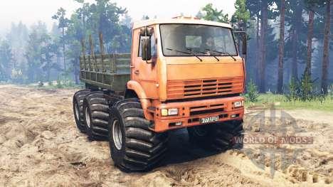 KamAZ-6522 Monstruo para Spin Tires