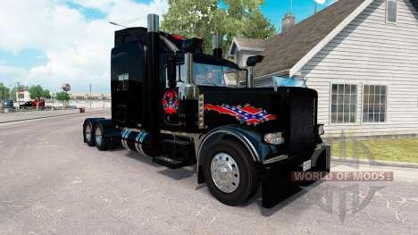 Rebelde Reaper de la piel para el camión Peterbi para American Truck Simulator