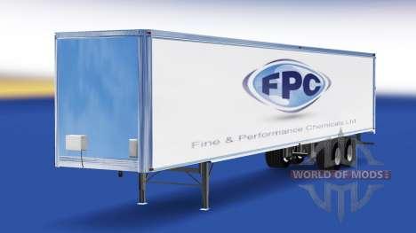 Piel Fina Y productos Químicos de Rendimiento en para American Truck Simulator