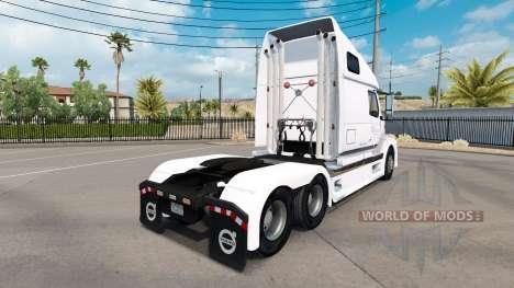 La piel de B. A. H. Express truck Volvo VNL 670 para American Truck Simulator