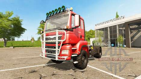 MAN TGS 18.480 para Farming Simulator 2017