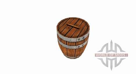Barril de madera para Farming Simulator 2017