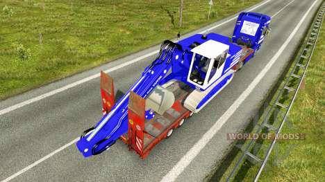 La piel de T. van der Vijver a baja barrido para Euro Truck Simulator 2