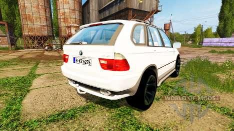 BMW X5 Unmarked Police para Farming Simulator 2017