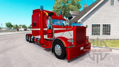 6 Metálico de la piel para el camión Peterbilt 3 para American Truck Simulator