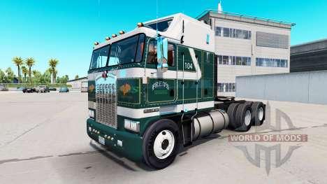 Freds de la piel para Kenworth K100 camión para American Truck Simulator