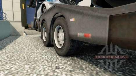 Ruedas dobles para remolques para Euro Truck Simulator 2