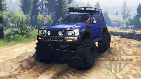 Nissan Patrol v2.0 para Spin Tires