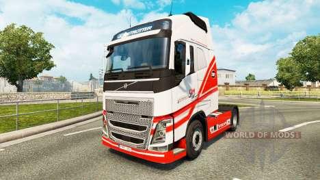 TruckSim de la piel para camiones Volvo para Euro Truck Simulator 2