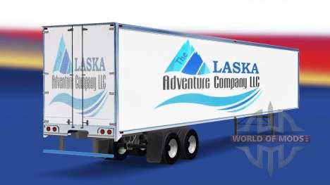 La piel de La Alaska Empresa de Aventura en el r para American Truck Simulator