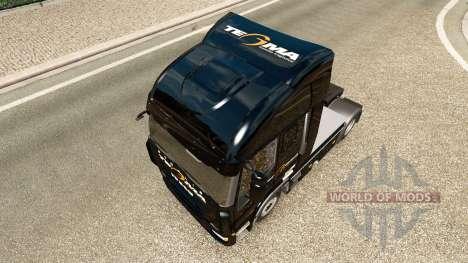 Tegma Logística de la piel para Iveco tractora para Euro Truck Simulator 2