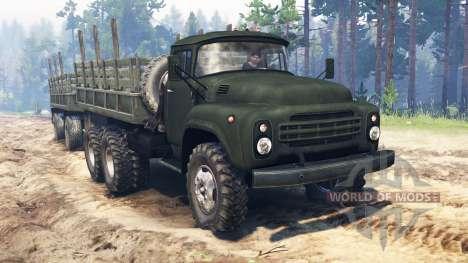 ZIL-130 de 6x6 para Spin Tires