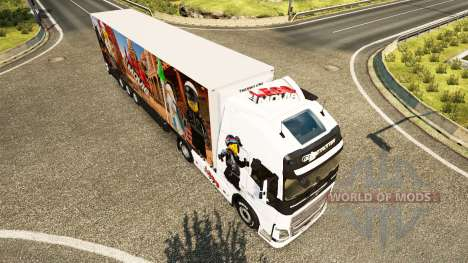 El Lego de la piel para camiones Volvo para Euro Truck Simulator 2