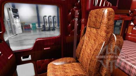Interior para Kenworth W900 para American Truck Simulator
