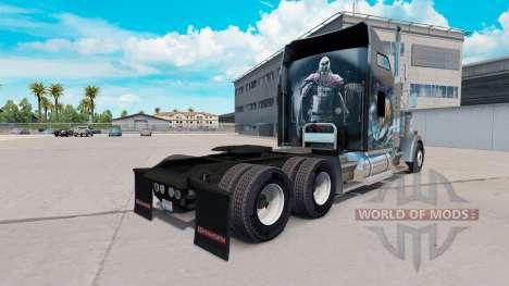 La piel de Viking para camión Kenworth W900 para American Truck Simulator