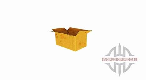 Caja de cartón corrugado con una parte superior  para Farming Simulator 2017