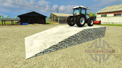 El paso a desnivel para Farming Simulator 2013
