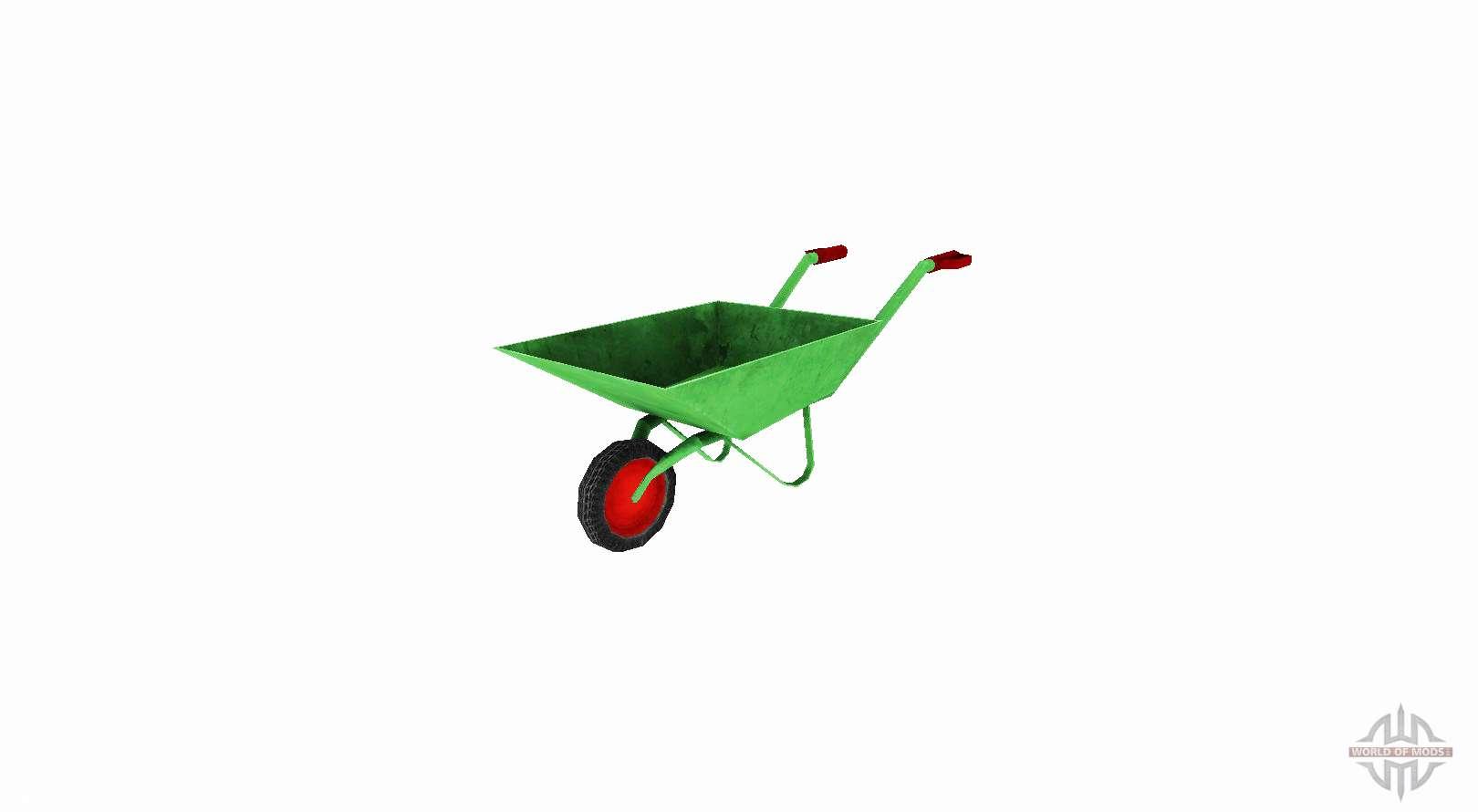 Jard n carretilla de mano para farming simulator 2017 for Carretillas para jardin