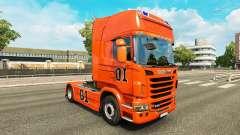 La piel de Hazzard v2.0 camión Scania