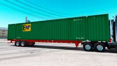 Semirremolque contenedor de EMP