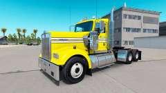 La piel Suave, de color Amarillo en el camión Ke