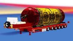 Baja barrido con un tanque de carga