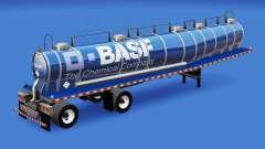 La piel de BASF para el tanque de químicos
