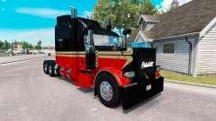 La piel Bajo la Vida para el camión Peterbilt 38