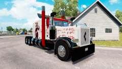 Harley Quin piel para el camión Peterbilt 389