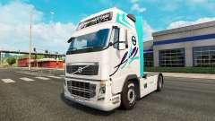 La piel de los camiones Volvo