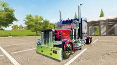 Peterbilt 388 Optimus Prime