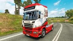 Sarantos de transporte de la piel para Scania ca