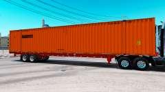 Semitrailer contenedor Schneider