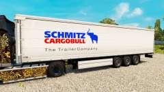 La piel de Schmitz semirremolques