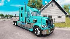La piel FFE en el camión Freightliner Coronado
