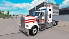 La piel de Austria en camión Kenworth W900