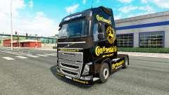 Continental de la piel para camiones Volvo