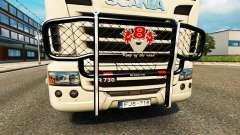 El parachoques V8 v2.0 camión Scania