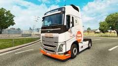 Granja Trans de la piel para camiones Volvo