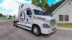 Piel Protegida de la Tierra para un camión Freig