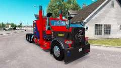 La piel de Nevada, estados UNIDOS para el camión