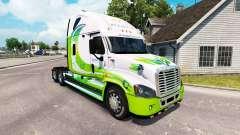 La piel HÍBRIDO tractor Freightliner Cascadia
