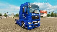 La ortiga Transportes de piel para HOMBRE camión