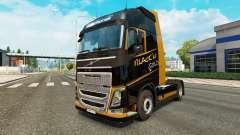 El Oro negro de la piel para camiones Volvo