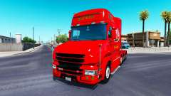 Dom Toretto de la piel para camión Scania T