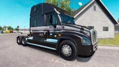 La piel de la Marta en el camión Freightliner Ca
