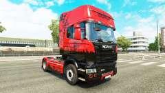 La piel de Estambul para tractor Scania