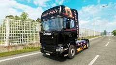 Ghost Rider piel para Scania camión