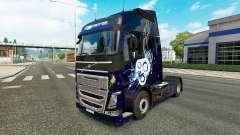 Elegante de la piel para camiones Volvo